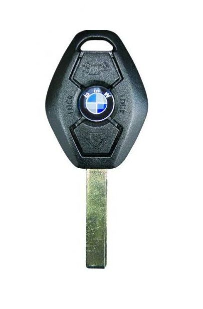 3 Buttons Car Remote Car Key for BMW EWS System PCF7935 Chip 433MHz for X3 Y7E5