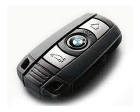 3 Button Remote Key for BMW Comfort Access (Aftermarket) - Keyless Go